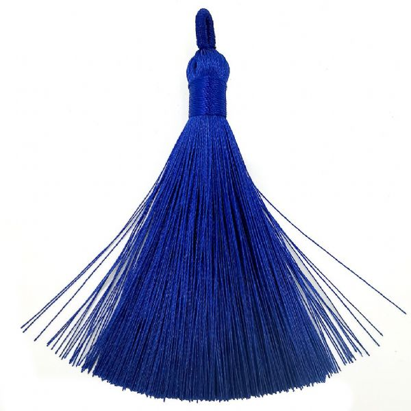 Large Blue Tassel